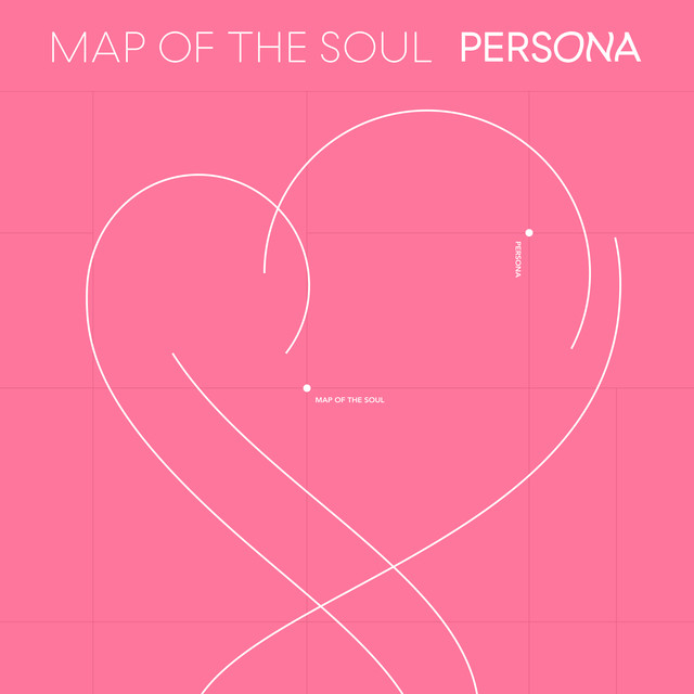 Album cover for MAP OF THE SOUL : PERSONA by BTS