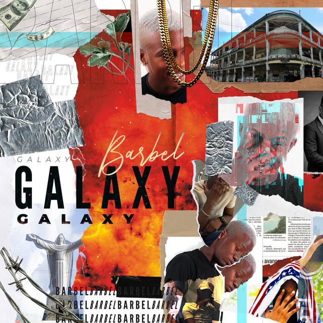 Album cover for Galaxy by BARBEL
