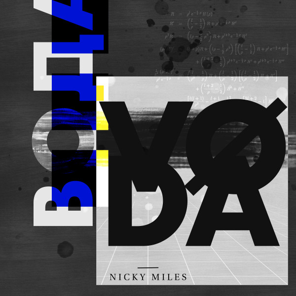 Artwork of the song 'Nicky Miles - Voda' release on 7 June 2019