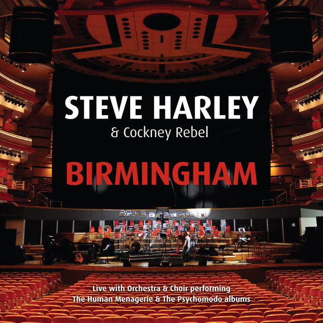 Steve Harley & Cockney Rebel, Steve Harley Birmingham - Live with Orchestra & Choir album cover