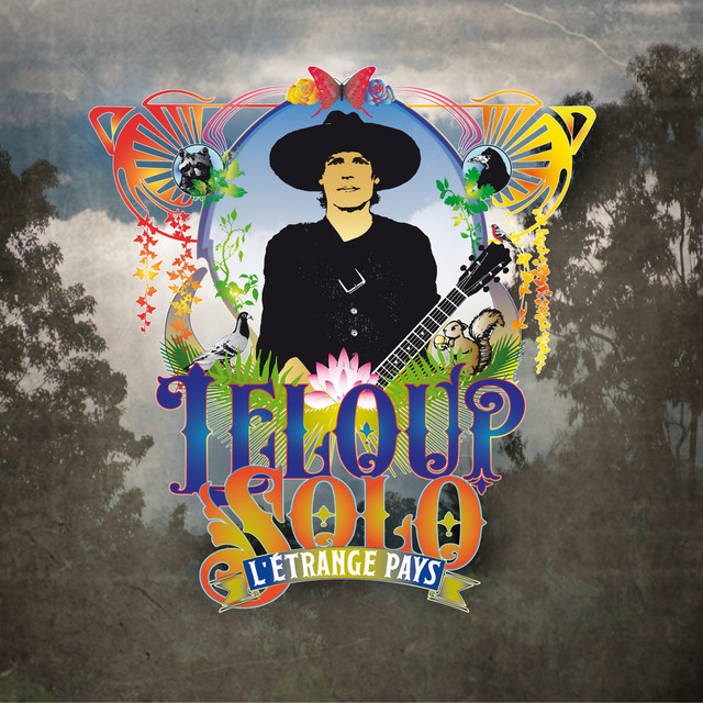 Album cover for L'étrange pays by Jean Leloup