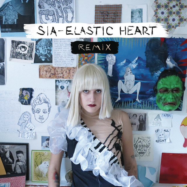 Elastic Heart (The Remixes) Albumcover