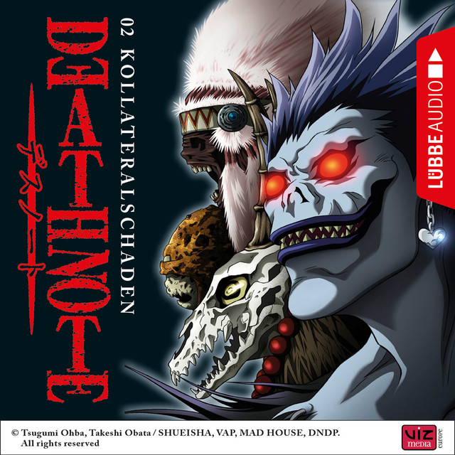 Death Note, Folge 2: Kollateralschaden (Hörspiel) Cover