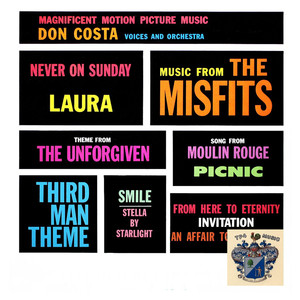 Don Costa Never on Sunday cover