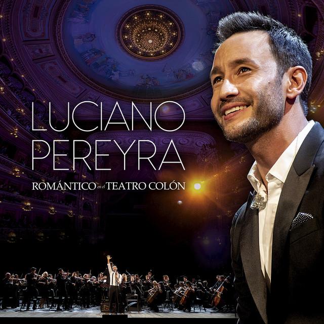 Album cover for Romántico En El Teatro Colón (Live At Teatro Colón, Argentina / 2019) by Luciano Pereyra