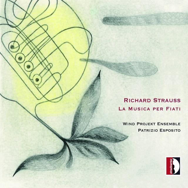 Richard Strauss: La musica per fiati Albumcover