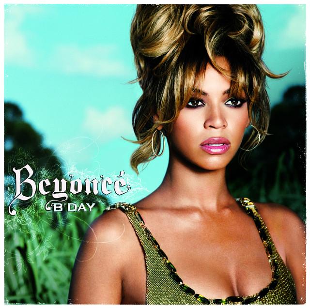 Skivomslag för Beyoncé: B'day