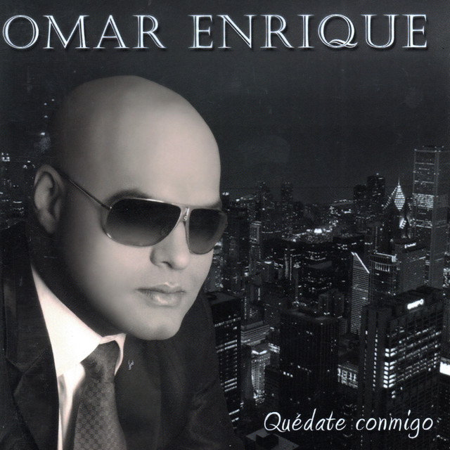 Album cover for Quédate Conmigo by Omar Enrique