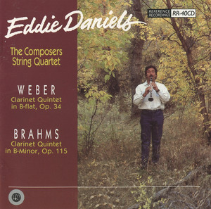 Brahms & Weber: Clarinet Quintets album
