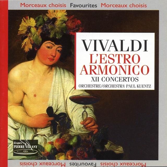 Vivaldi : L'Estro armonico, Op. 3 ''12 Concertos'' Albumcover