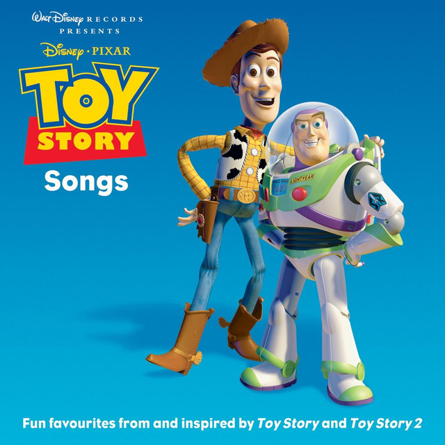 Various Artists Toy Story Songs album cover
