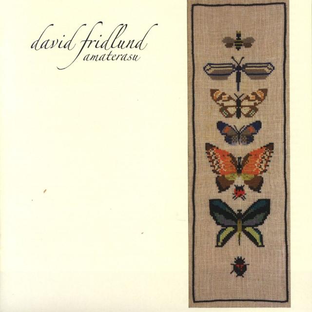 Skivomslag för David Fridlund: Amaterasu