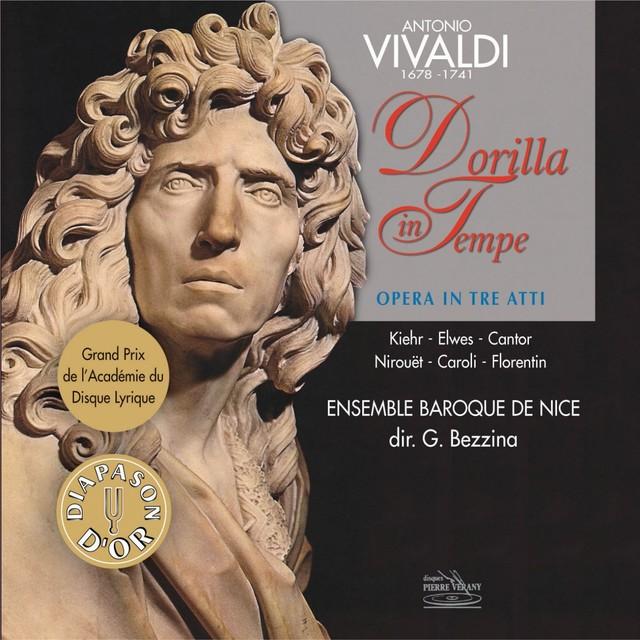 Vivaldi : La Dorilla in Tempe, opéra en 3 actes Albumcover