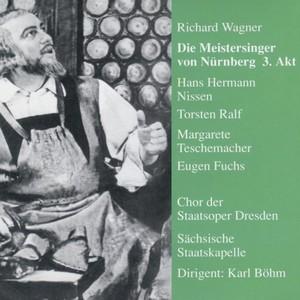 Meistersinger von Nürnberg 3. Akt Albumcover