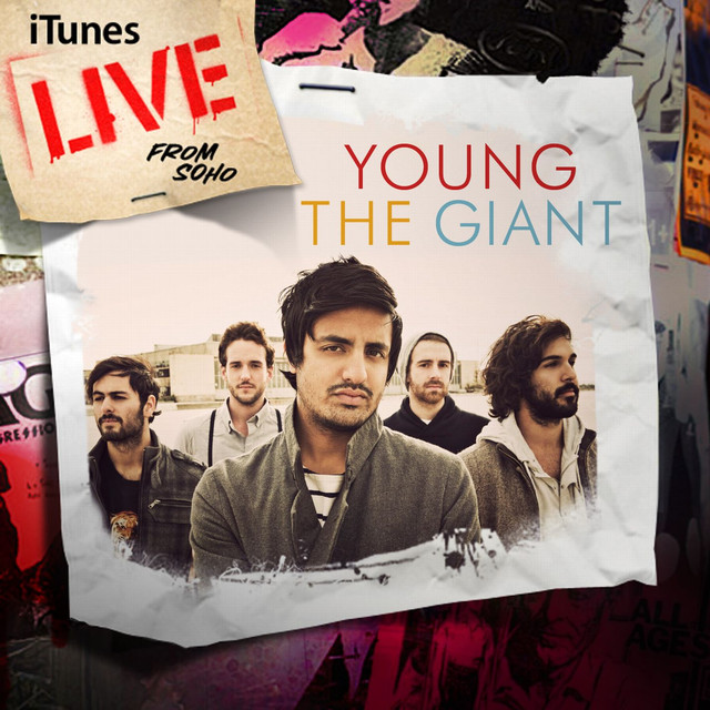 Young the Giant iTunes Live from SoHo album cover