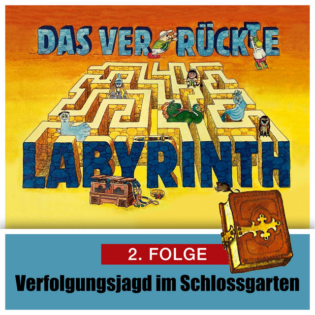 Folge 2: Verfolgungsjagd im Schloßgarten Cover