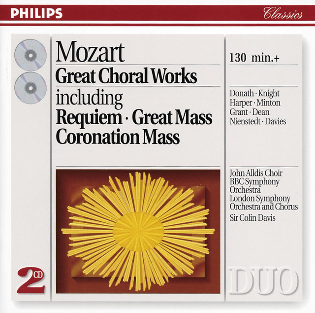 Mozart: Great Choral Works (2 CDs)