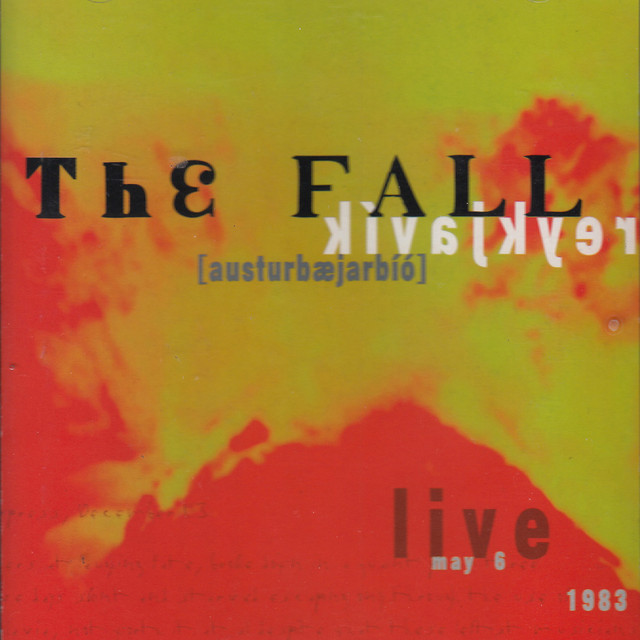 The Fall Austurbæjarbíó album cover