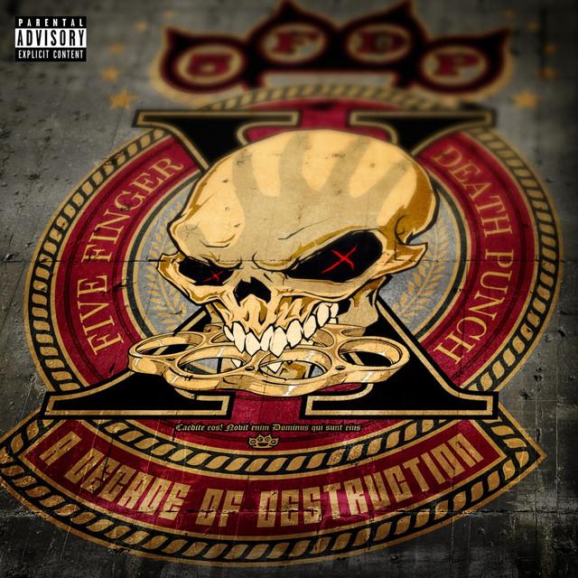 Five Finger Death Punch A Decade of Destruction album cover
