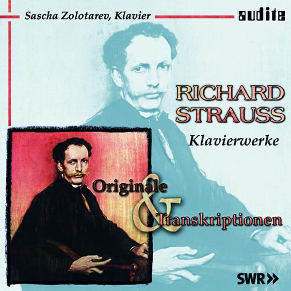 Richard Strauss: Klavierwerke (Originale & Transkriptionen) Albumcover