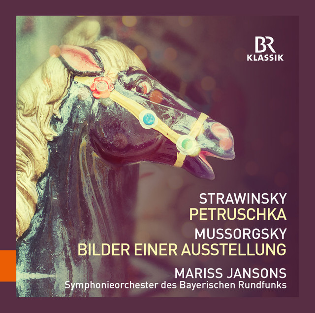 Stravinsky: Petrushka - Mussorgsky: Pictures at an Exhibition Albumcover
