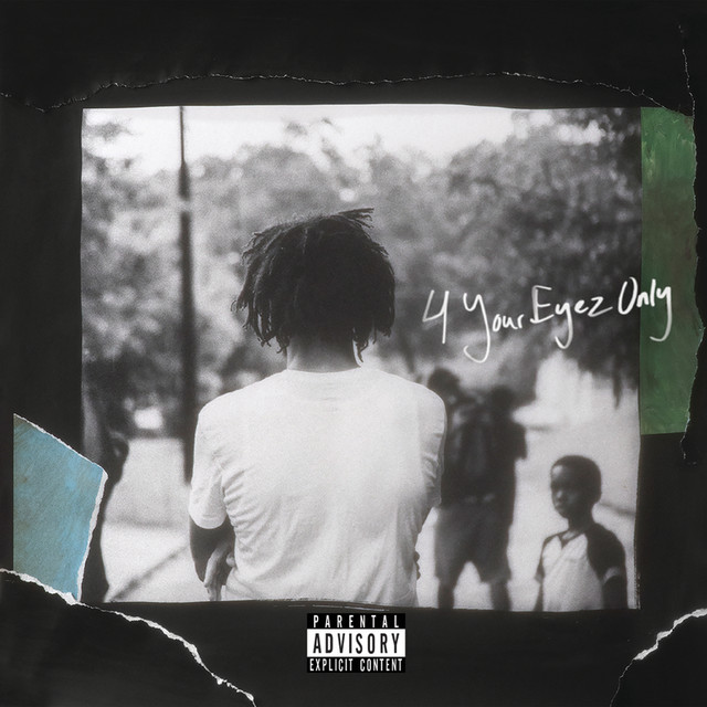 Skivomslag för J. Cole: 4 Your Eyez Only