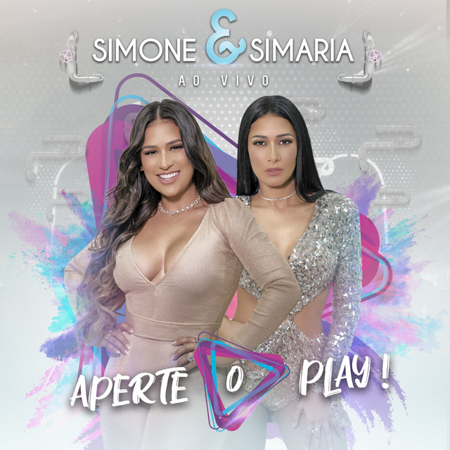 Album cover for Aperte O Play! (Ao Vivo) by Simone & Simaria