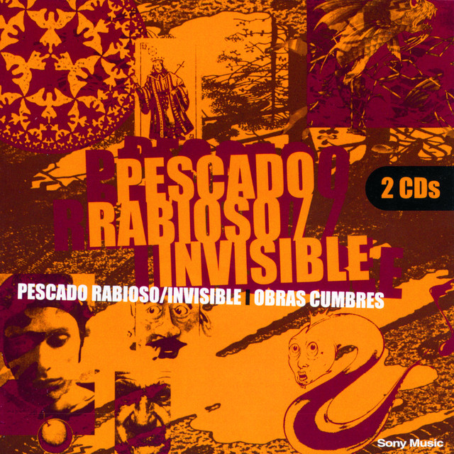 Various Artists Obras Cumbres Pescado Rabioso - Invisible album cover