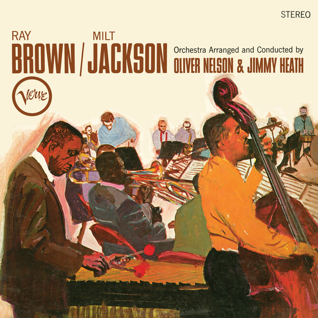 Milt Jackson, Ray Brown Ray Brown / Milt Jackson album cover