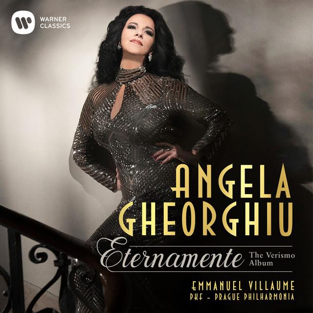 Album cover for Eternamente - The Verismo Album by Angela Gheorghiu