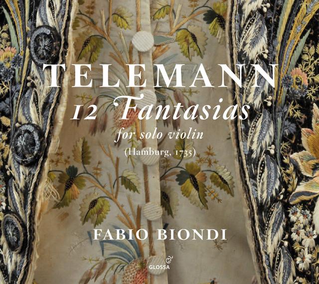 Telemann: 12 Fantasias for Solo Violin, TWV 40