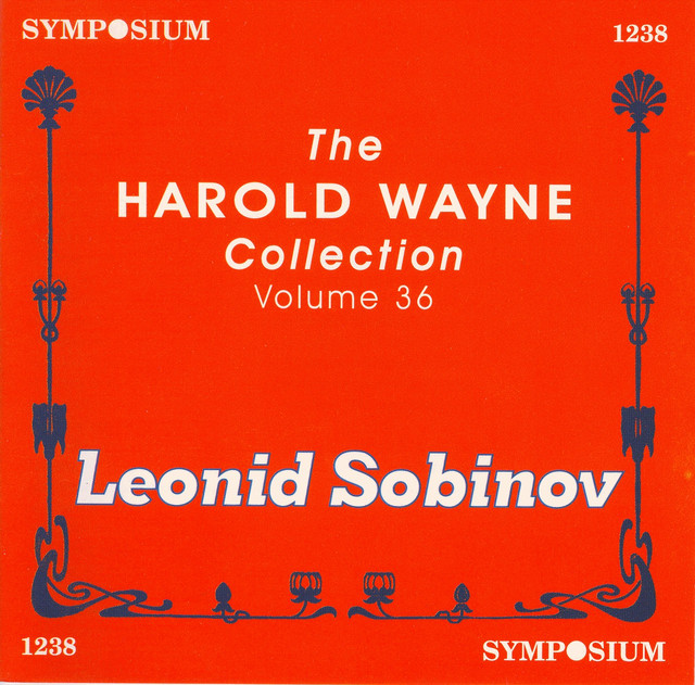 What Happiness A Song By Karl Davidov Leonid Sobinov Studio