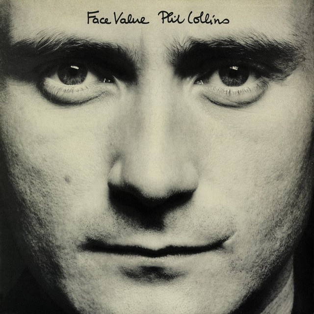 Phil Collins Face Value album cover