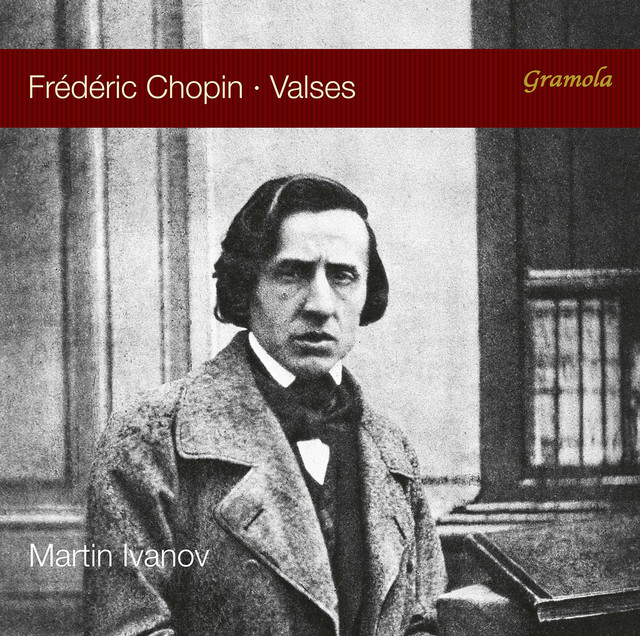 Album cover for Chopin: Valses by Frédéric Chopin, Martin Ivanov
