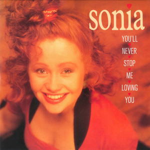 Sonia You'll Never Stop Me Loving You - Backing Track cover