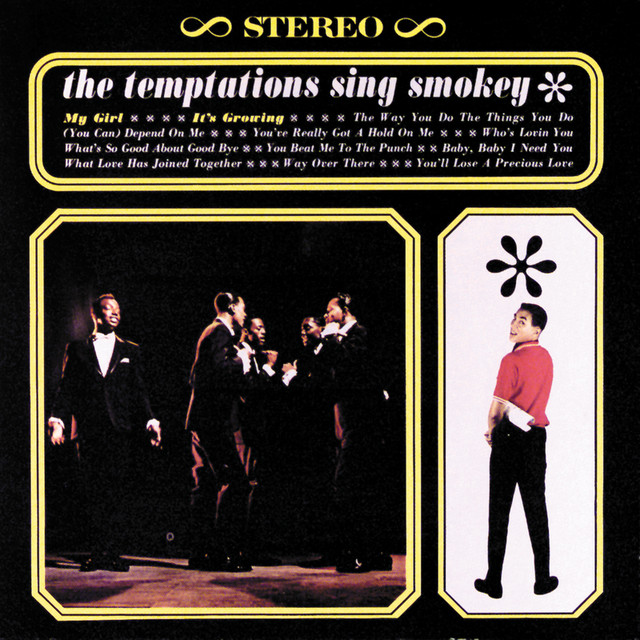 The Temptations, Diana Ross & The Supremes The Temptations Sing Smokey album cover