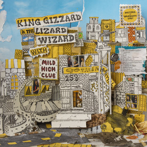 Album cover for Sketches of brunswick east by King Gizzard & The Lizard Wizard