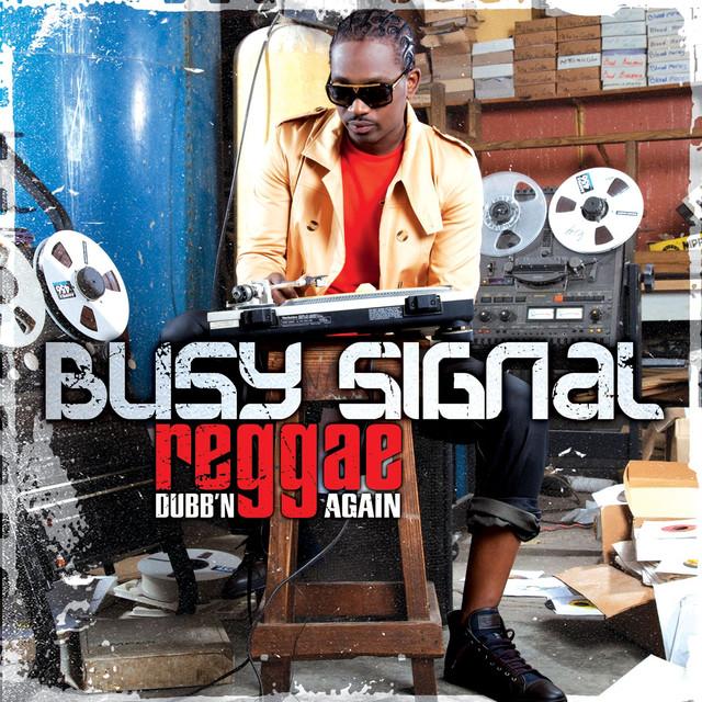 Busy Signal Reggae Dubb'n Again album cover