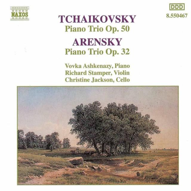 Tchaikovsky / Arensky: Piano Trios Albumcover