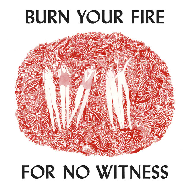 Album cover for Burn Your Fire For No Witness by Angel Olsen