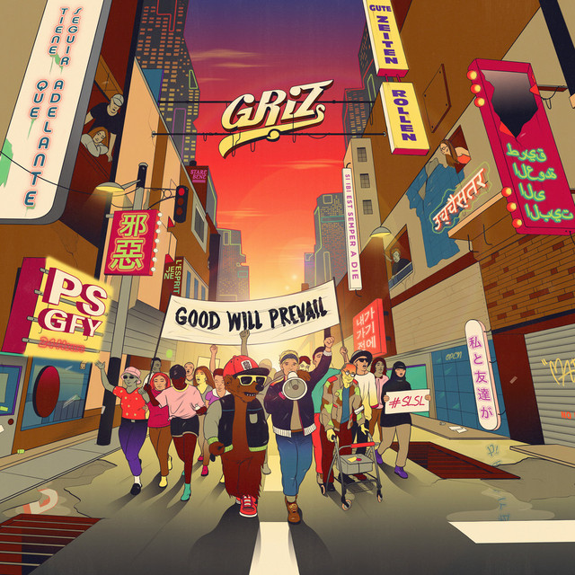Album cover for Good Will Prevail by GRiZ