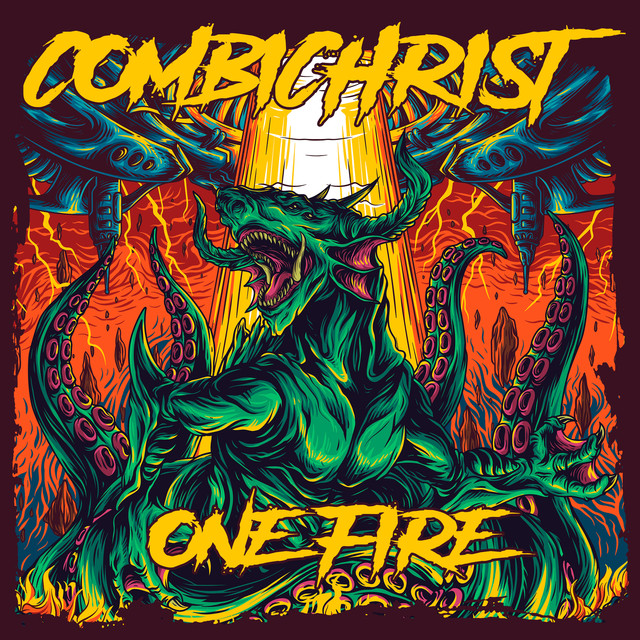 Album cover for One Fire by Combichrist