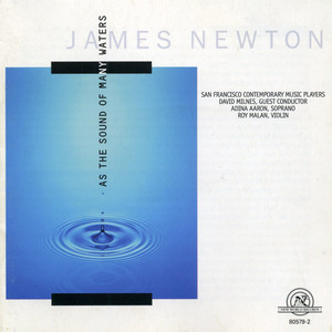 James Newton: As the Sound of Many Waters album