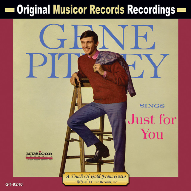 Gene Pitney Sings Just for You album cover