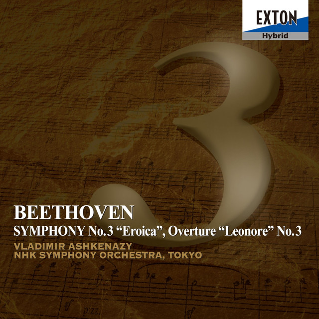 Beethoven: Symphony No. 3 Eroica, Overture Leonore No. 3 Albumcover