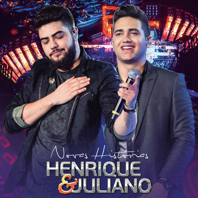 Album cover for Novas Histórias (Ao Vivo) - Deluxe by Henrique & Juliano