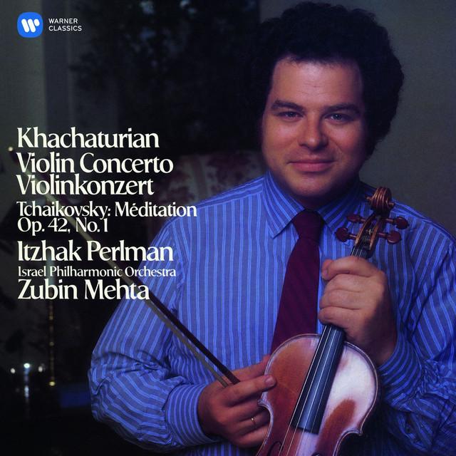 Khachaturian: Violin Concerto - Tchaikovsky: Méditation Albumcover