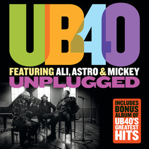 UB40, Ali Campbell, Astro, Michael Virtue, Pato Banton Baby Come Back cover