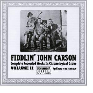 Fiddlin John Carson Vol. 2 1924 - 1925 album