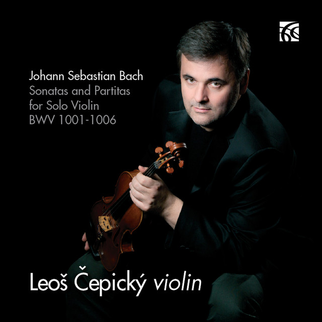 Album cover for Bach: Sonatas and Partitas for Solo Violin, BWV 1001-1006 by Johann Sebastian Bach, Leos Cepicky